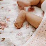 Aden + Anais Dream Blanket Dahlias