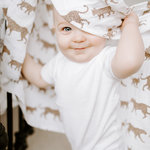 Aden + Anais Swaddle 4-pack Here me Roar