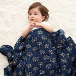 Aden + Anais Dream Blanket Metallic Gold Deco Dandelion Classic