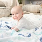 Aden + Anais Swaddle 4-pack Seafarin