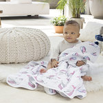 Aden + Anais Dream Blanket Benita Birds
