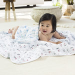 Aden + Anais Dream Blanket Whales & Boats