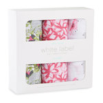 Aden + Anais Swaddle 3-pack Paradise Cove White Label