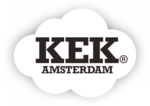KEK Amsterdam Wallpaper Circle Bear with Blue House