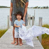Aden + Anais Swaddle 4-pack Gone Fishing_