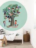 Kek Amsterdam Wallpaper Circle Appel Tree
