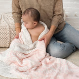 Aden + Anais Dream Blanket Island Gateway Leaves Silky Soft_