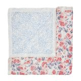 Aden + Anais Dream Blanket Watercolor Garden Roses Silky Soft_