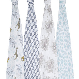 Aden + Anais Swaddle 4-pack Jungle