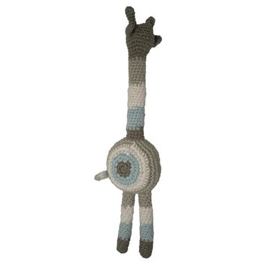 Fair and Cute Knuffel Giraf mixed Light Blue