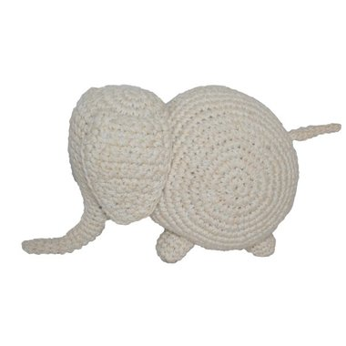 Fair and Cute Knuffel Olifant Off White