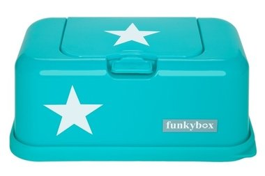 Funkybox Turquoise Ster