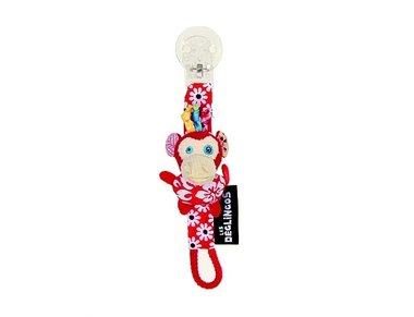 Les Deglingos Pacifer clip Bogos the monkey