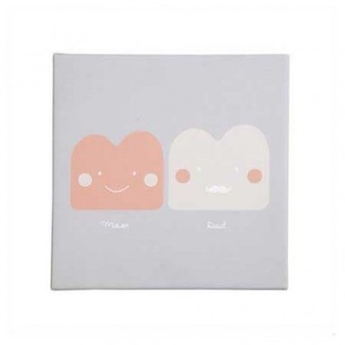 Bibelotte Little Canvas Mom and Dad