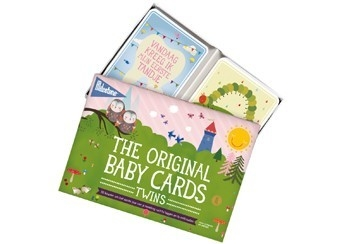 Milestone Baby Cards Twins - NL