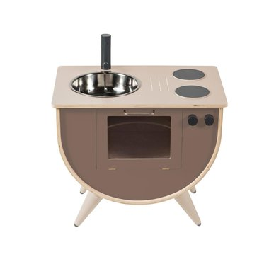 Sebra Speelkeuken Hout Warm Grey