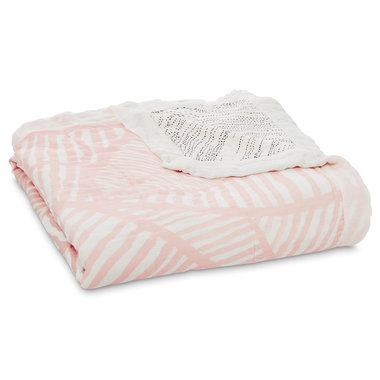 Aden + Anais Dream Blanket Island Gateway Leaves Silky Soft